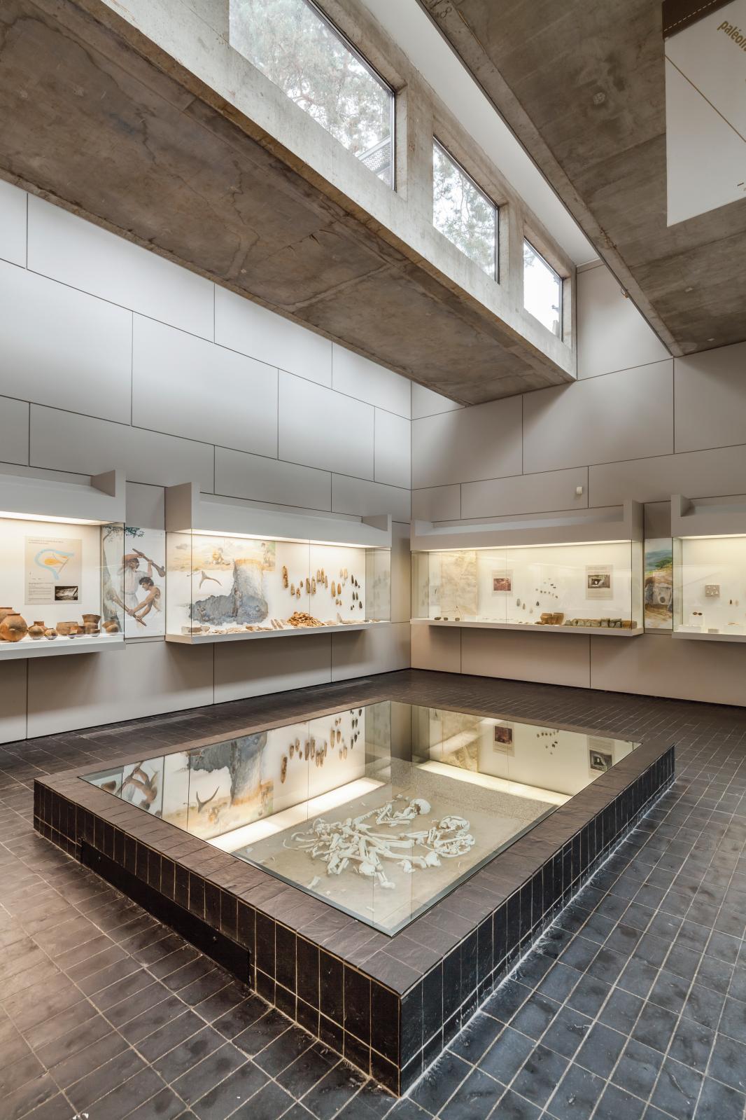 Salle du Néolithique, 5000 à 2300 ans av.J.-C. © Photographie Yvan Bourhis / CD77