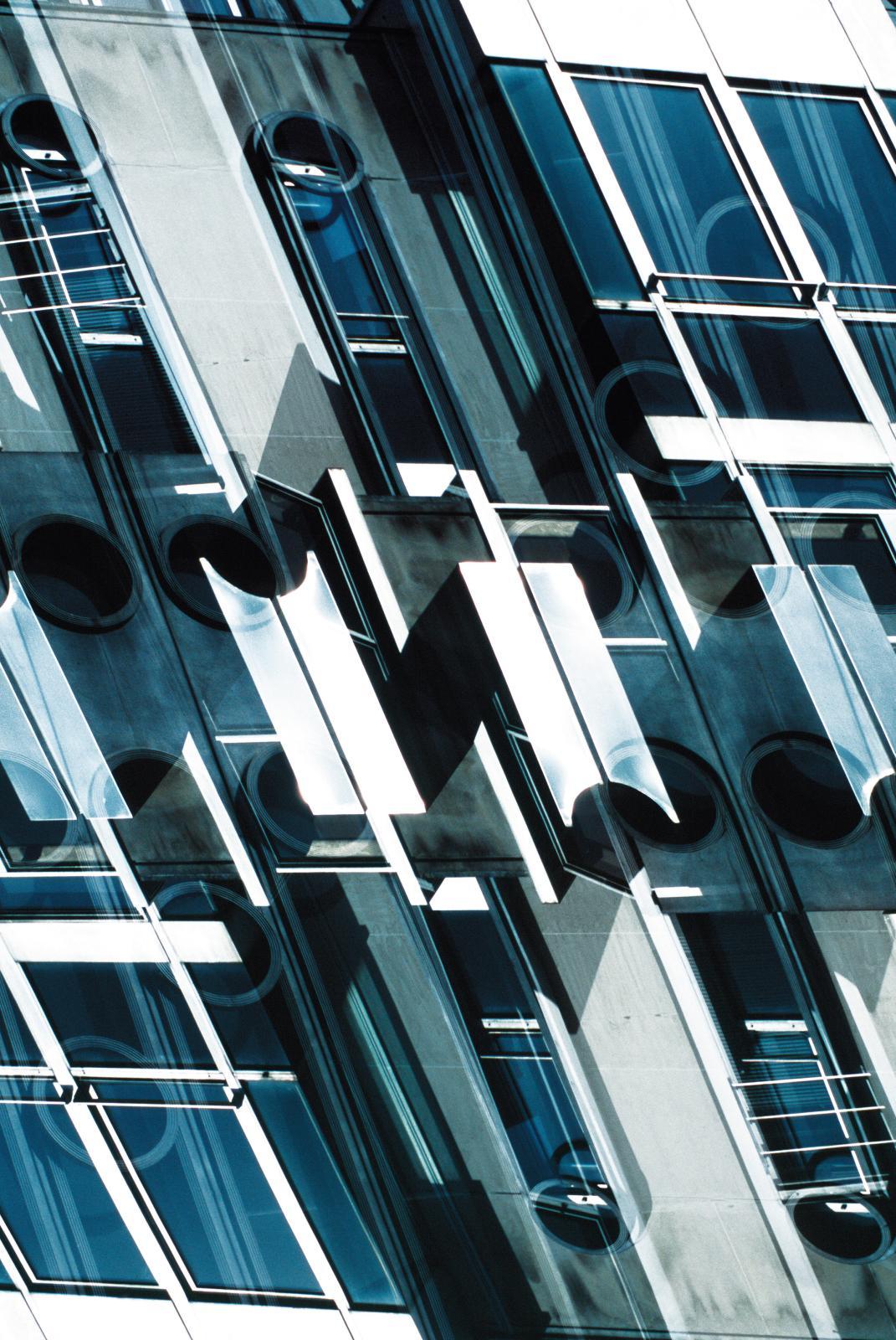 Olivier Dassault, Composition7, avril 2014, immeuble Drouot, tirage argentique sur papier baryté, édition 1/10 (détail). DR
