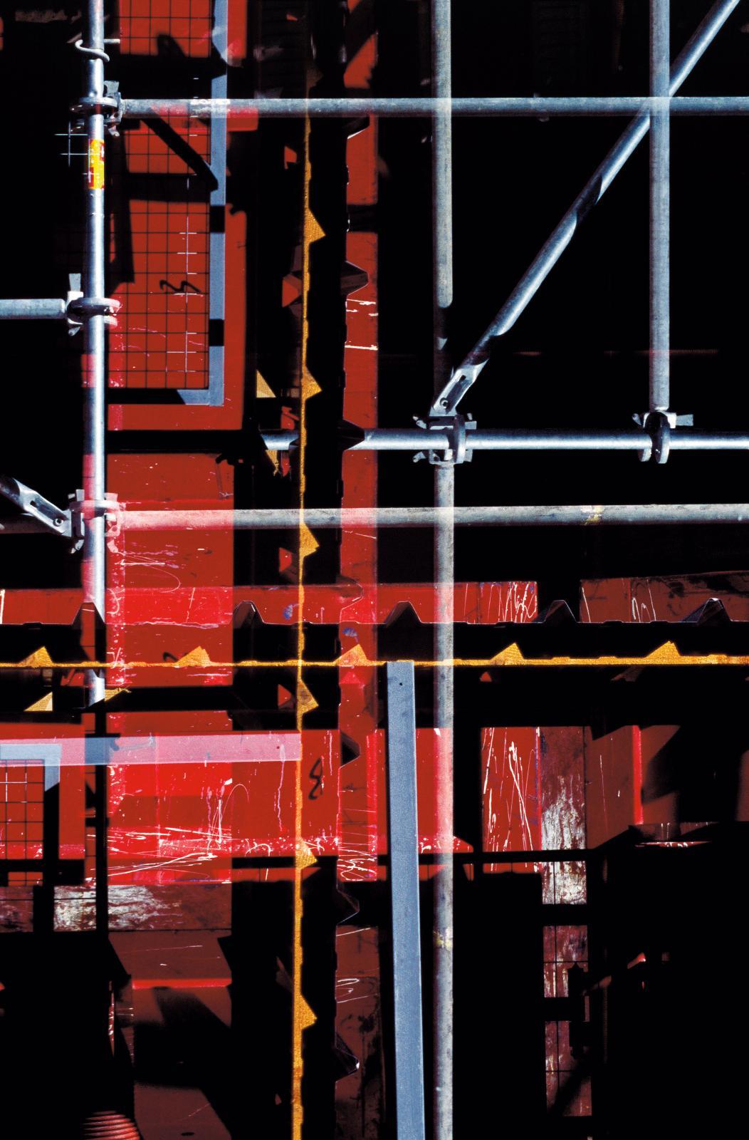 Olivier Dassault, Armatures2, mars2014, chantier parisien, tirage argentique sur papier baryté, édition 1/10.