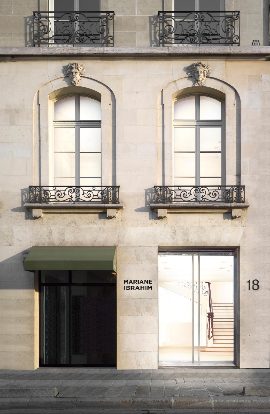 La galerie Mariane Ibrahim sur l'avenue Matignon.Courtesy Mariane Ibrahim