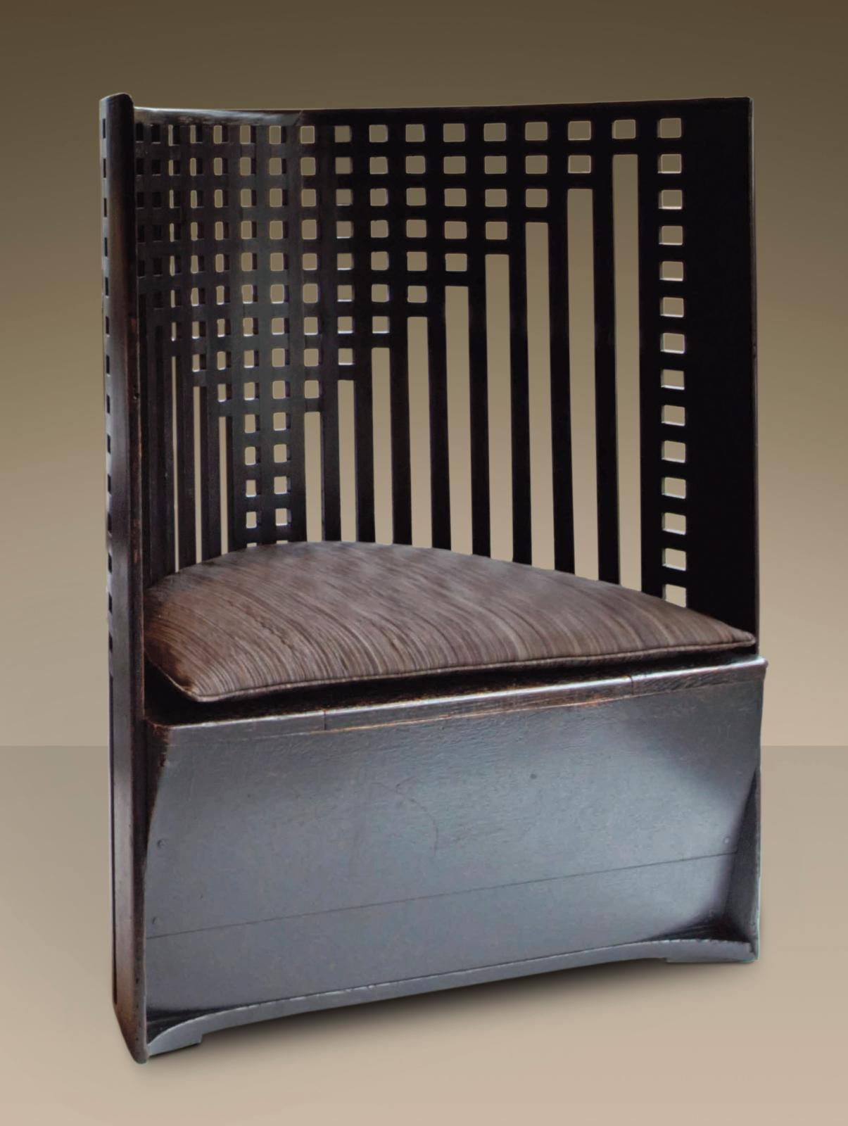 Chaise de la caissière pour les «Willow Tea Rooms», Glasgow, 1903.