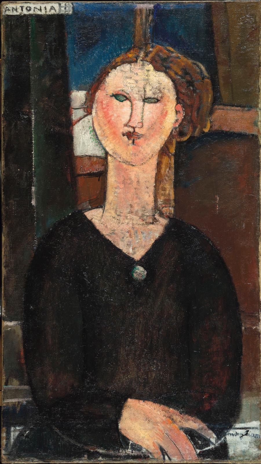 Antonia, vers 1915, huile sur toile, 82x46cm, musée de l'Orangerie. ©RMN-Grand Palais (musée de l'Orangerie)/Hervé Lewandowski