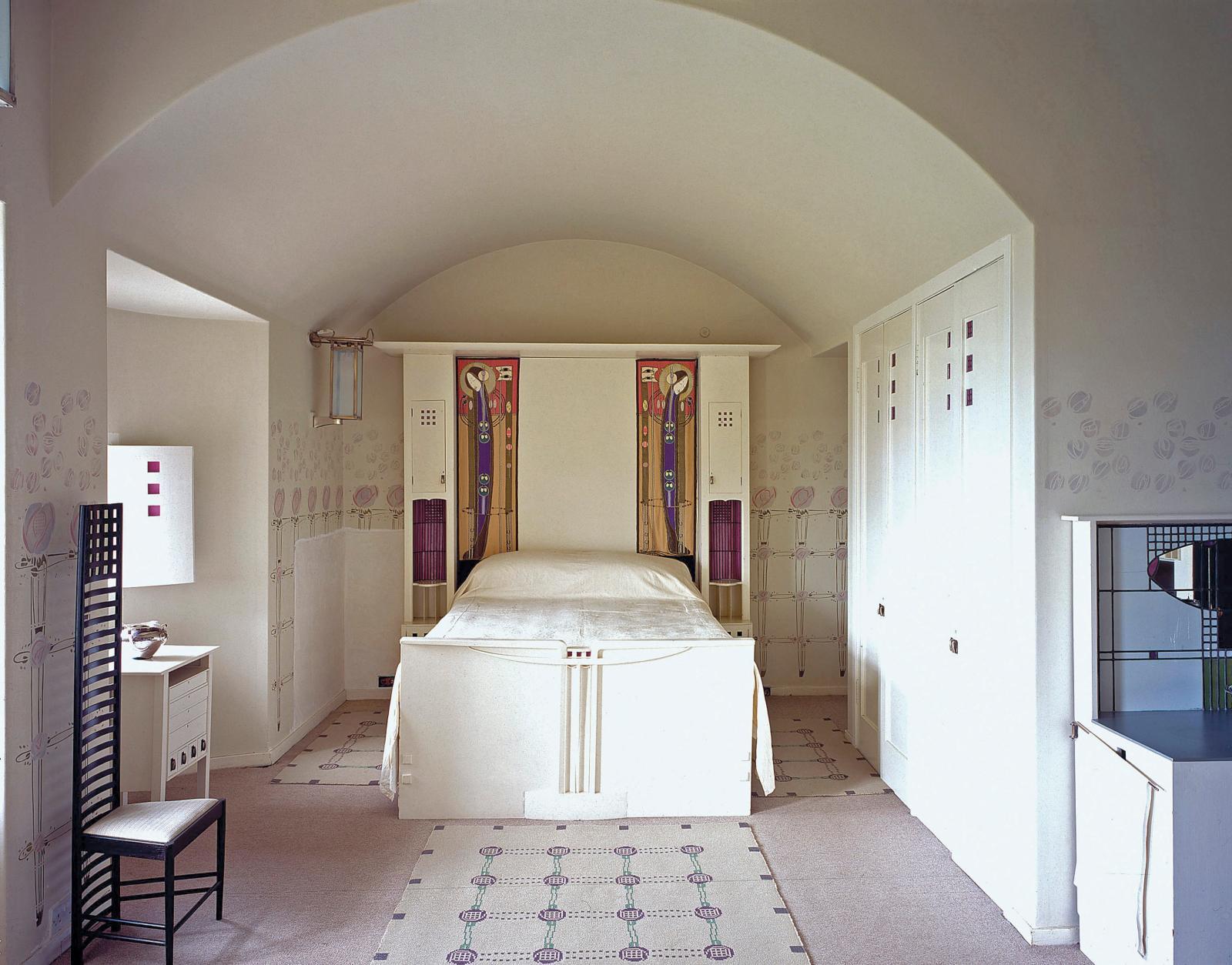 La chambre à coucher de HillHouse, 1904.
