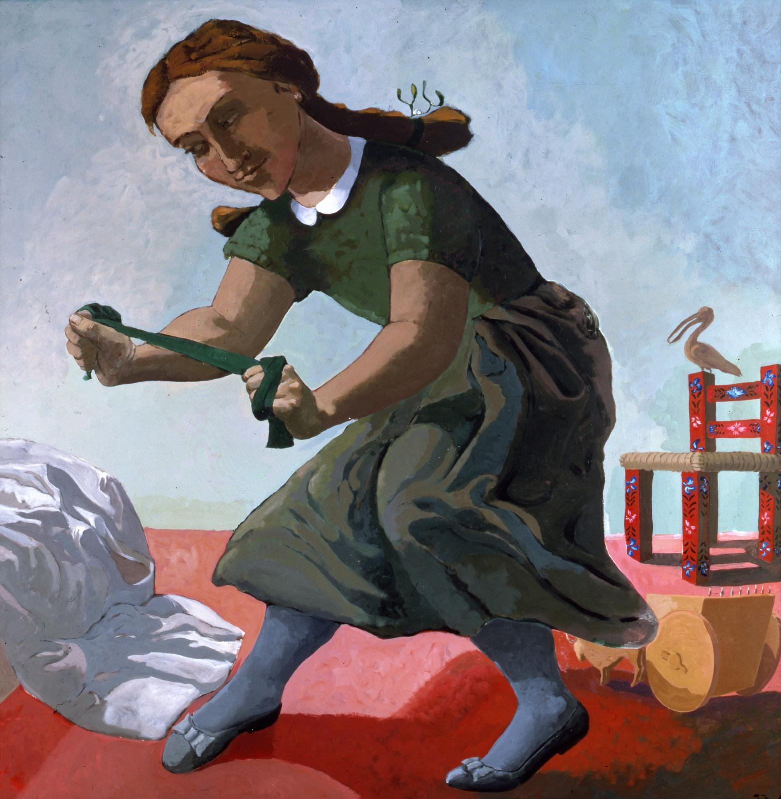 Paula Rego (b.1935), The Little Murderess, 1987. Private Collection, UK© Paula Rego