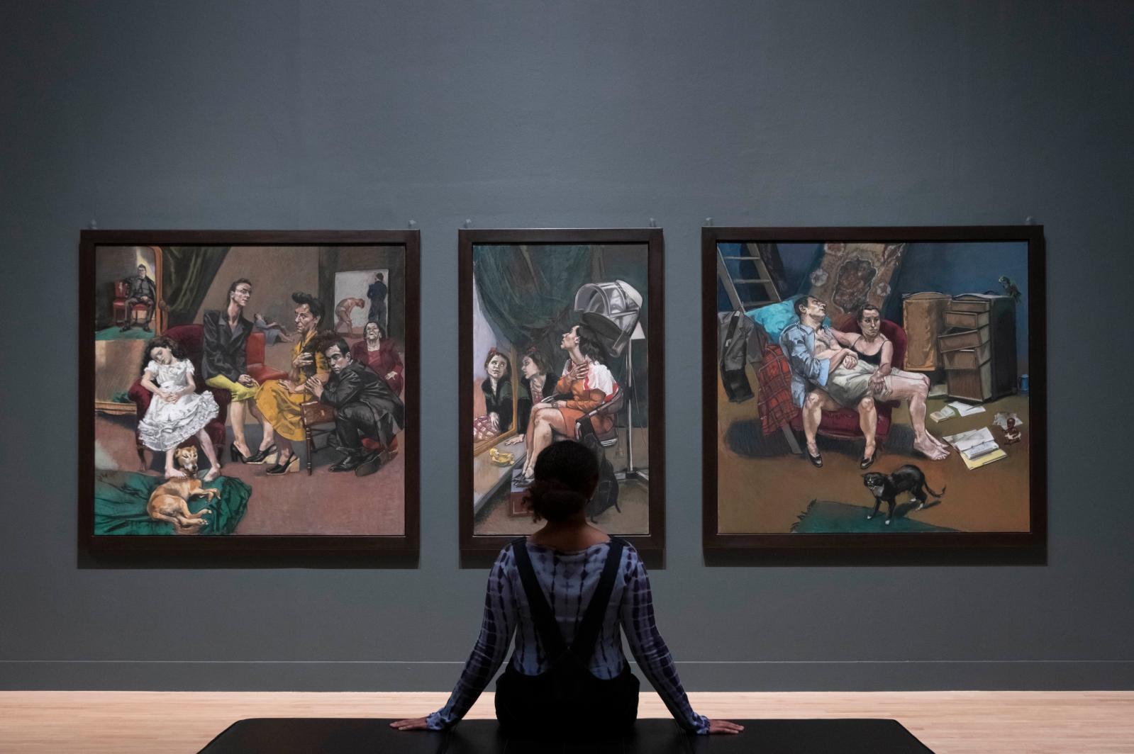 """Paula Rego,"" Tate Britain© Tate (Oliver Cowling)"