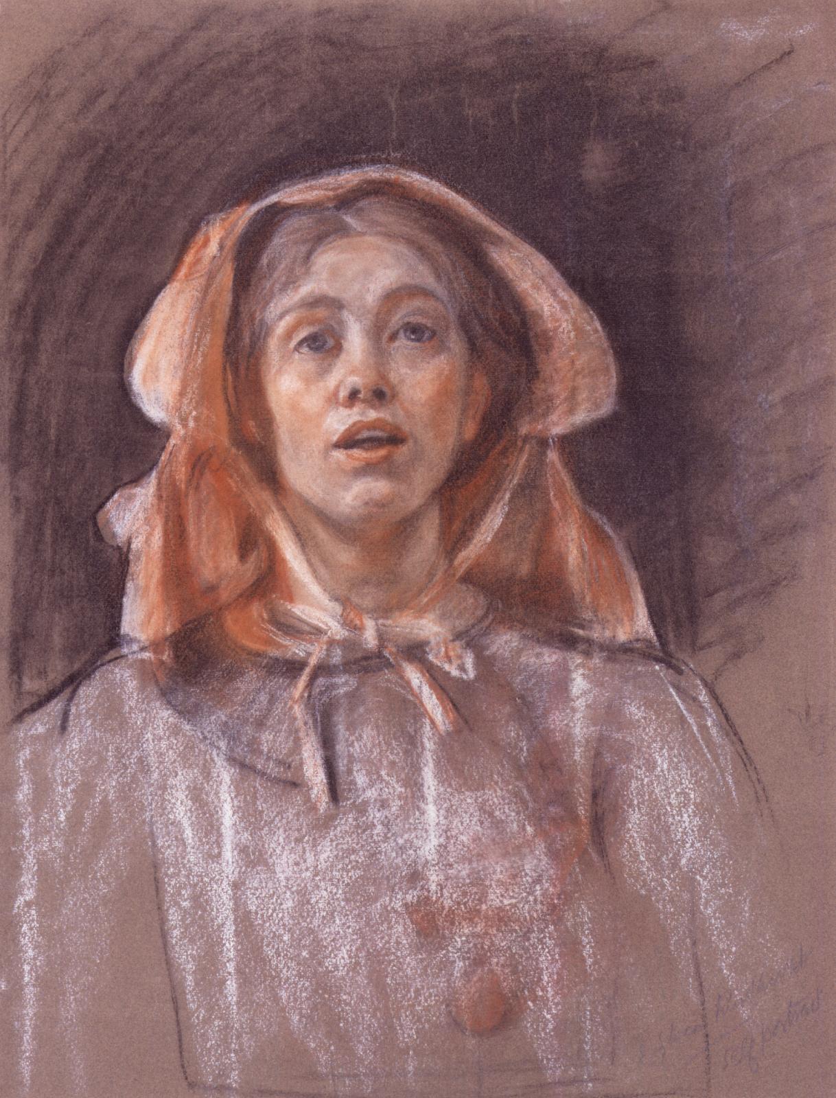 Sylvia Pankhurst by Sylvia Pankhurst, c.1907-1910© National Portrait Gallery, London