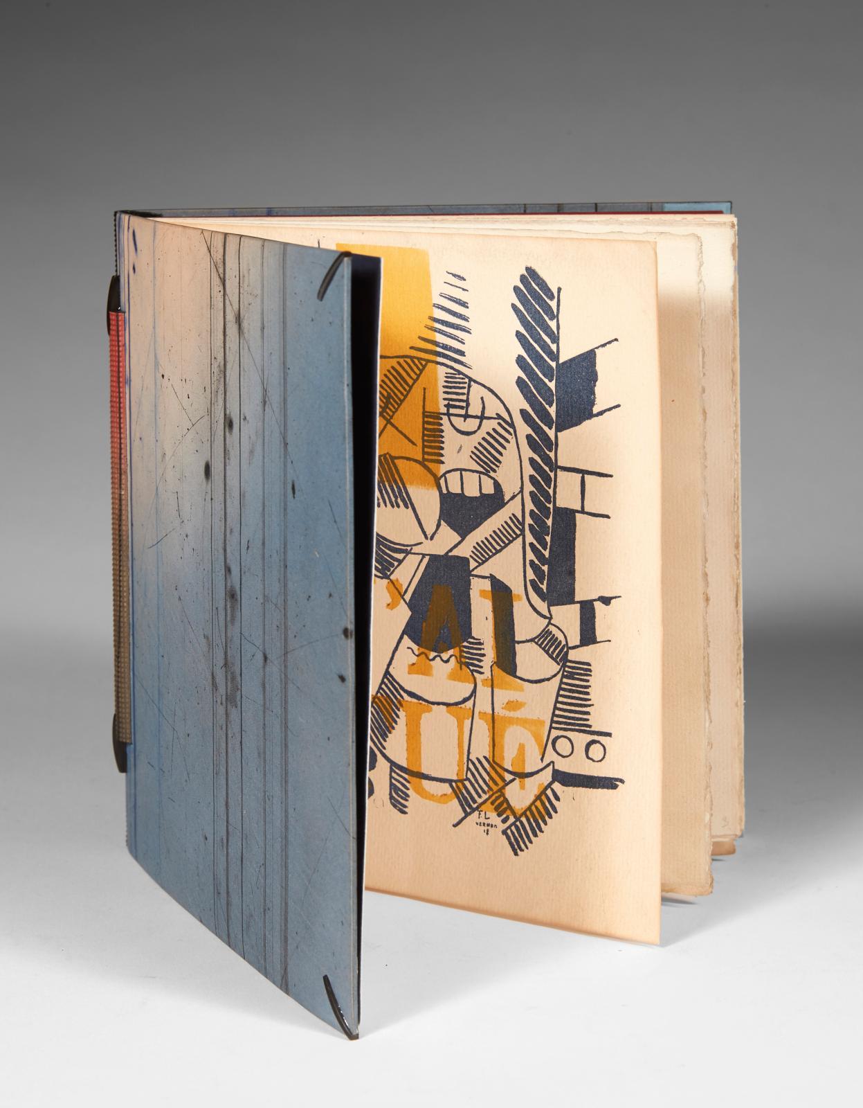 Blaise Cendrars (1887-1961) - Fernand Léger (1881-1955), J'ai tué, Paris, La Belle Édition, 1918; un volume de l'édition originale, in-8° carré; rel